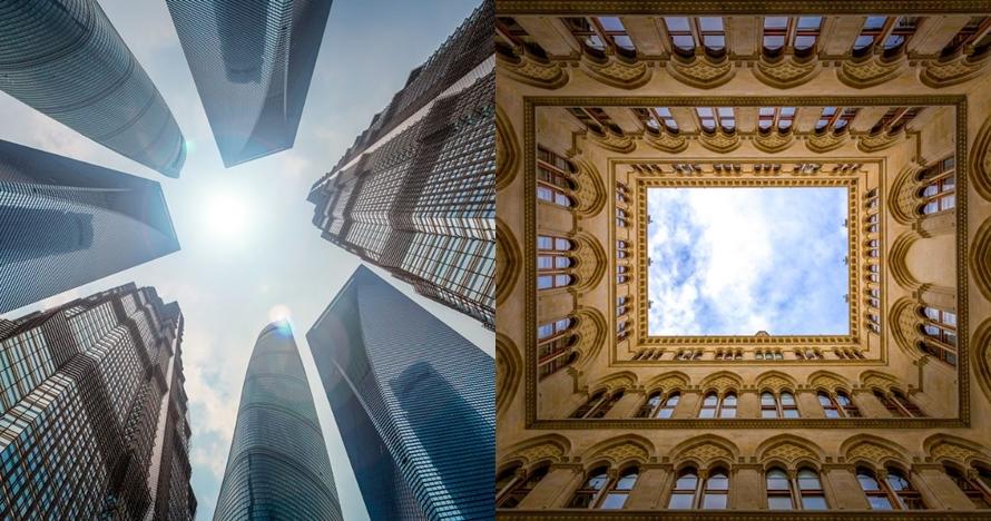 13 Foto langit di antara megahnya bangunan ini bikin takjub, wow!