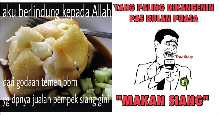 18 Meme 'hanya di bulan Ramadan' ini bikin ngakak sampai mules