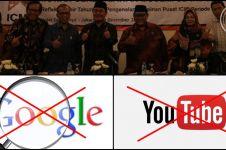 ICMI desak pemerintah blokir YouTube dan Google, duh kenapa ya?