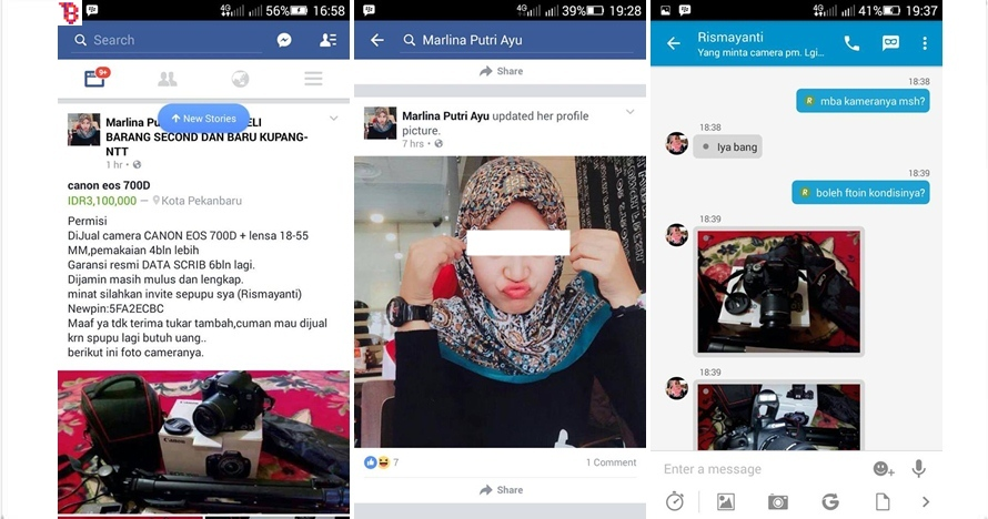 Cerita Lucu Gagalnya Penipuan Online Shop Ini Bikin