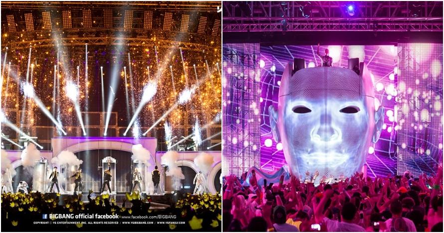 20 Foto indahnya desain panggung konser musik, luar biasa!