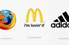 Ternyata beginilah bentuk 20 logo produk terkenal saat pertama dibuat!