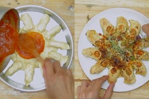 Ini resep lezat homemade cheesy bite pizza, cocok untuk buka puasa!