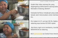Netizen galang dana untuk ibu penjual warteg yang dirazia Satpol PP