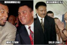 15 Foto kenangan Muhammad Ali dengan publik figur dunia