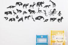 10 Desain wallpaper kamar si kecil ini bisa sekaligus untuk belajar