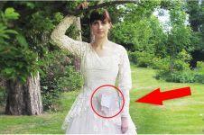 Pria ini jual gaun pernikahan istrinya untuk sumbang penderita kanker