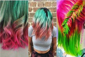 Bosan dengan rambut hitammu? Coba deh watermelon hair yang hits abis!