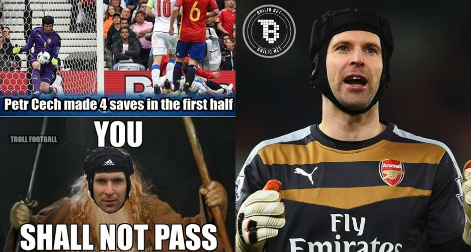 Terlahir kembar 3 jadi alasan Petr Cech 10 tahun tak lepas helm
