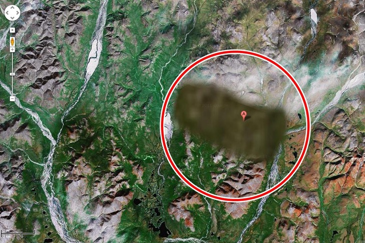 5 Mysterious places on Earth that are blurred out on Google Maps on google map university, bing maps places, directions to and from places, google places map99412poaha pl, google earth my-places,