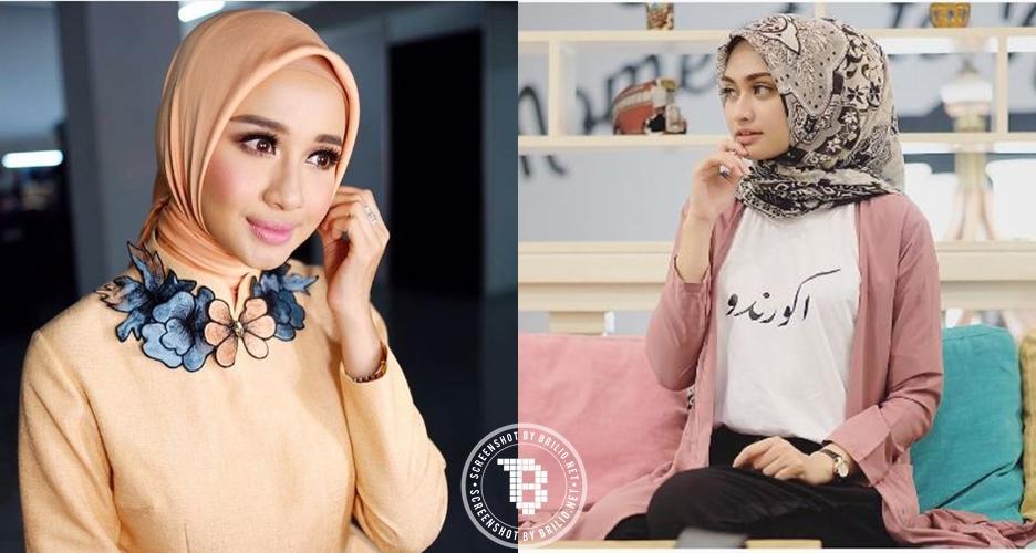 Pakai jilbab segiempat?  Kamu bisa tampil chic dengan 10 style ini