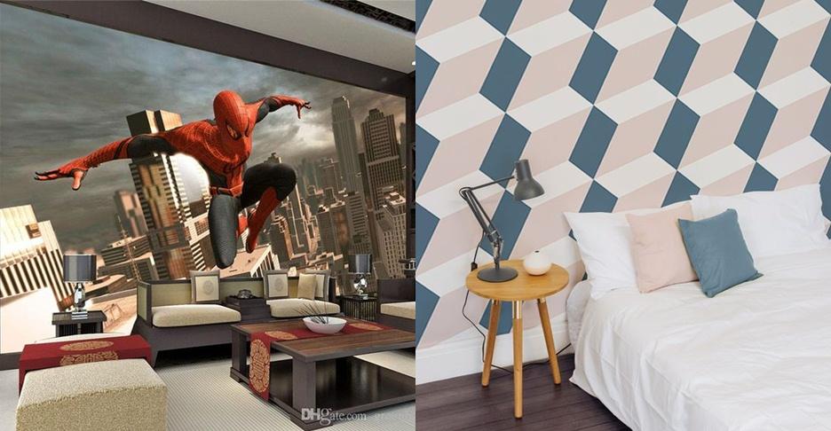 16 Wallpaper 3D yang bikin rumahmu makin kece dan hits abis!