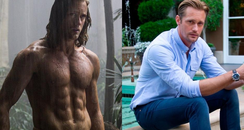 7 Fakta Alexander Skarsgård, si macho dalam The Legend of Tarzan