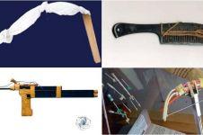 12 Senjata dari benda keseharian ini dipakai napi untuk melarikan diri