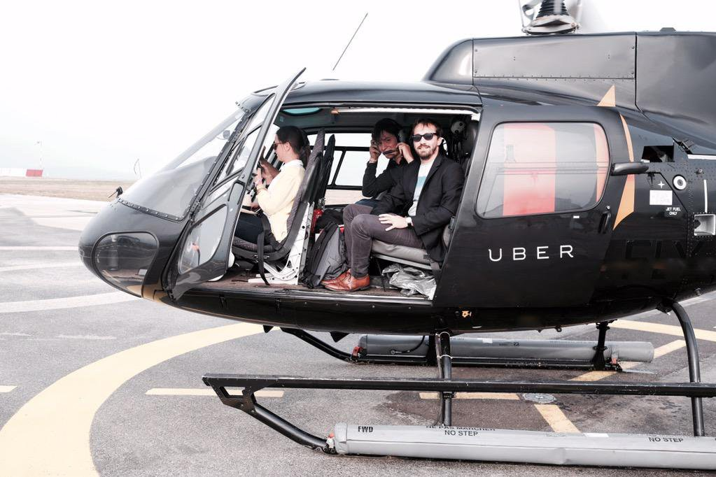 Uber Launches Helicopter Service In Sao Paulo Brazil