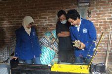 Mahasiswa ITS bikin mesin penyayat bambu yang memudahkan perajin