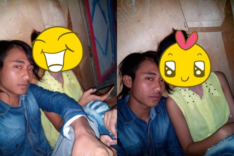 Foto sepasang kekasih ini mendadak viral, kamu tahu anehnya di mana?