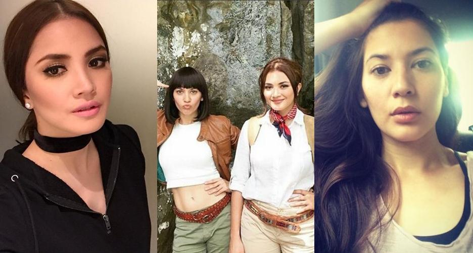 15 Foto cantiknya Hannah & Fazura, duo seksi di film Warkop DKI Reborn