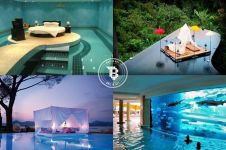 15 Desain kolam renang paling keren di dunia, yuk nyemplung! Byur..