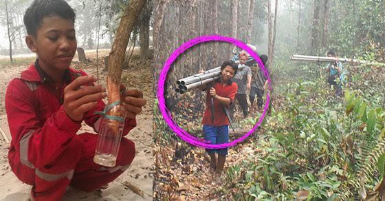 10 Pejuang hutan dari Indonesia, mereka menjaga paru-paru dunia