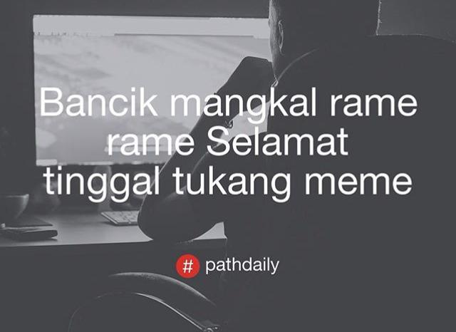 24 Foto Path Daily yang lagi hits, dari yang lucu hingga ...