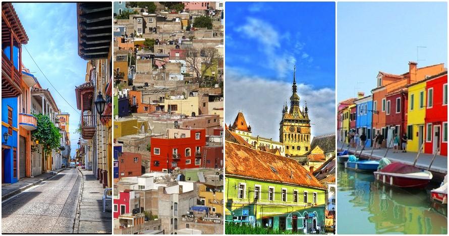 25 Kota paling warna-warni di dunia, keren dan bikin pengen ke sana!