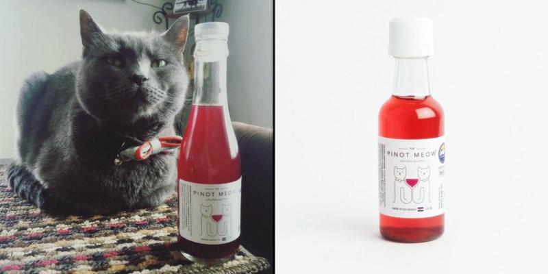 Perusahaan ini menciptakan wine yang bisa diminum bersama kucing, kok?