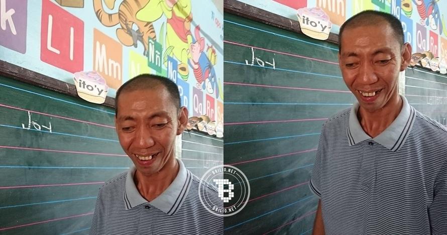 Terlahir lumpuh, pria 40 tahun ini gigih berjuang masuk sekolah dasar