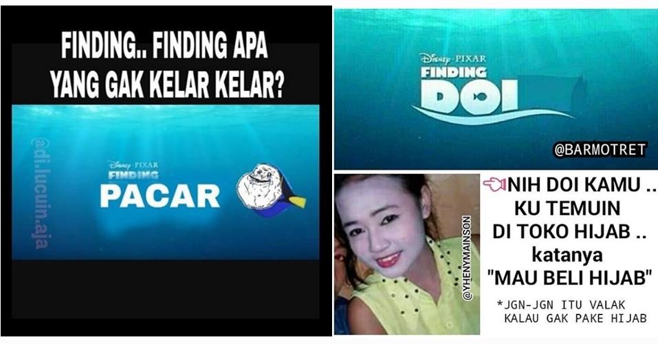 18 Meme 'Finding Dory' ini lucu banget, bikin ketawa!