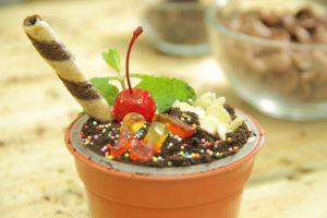 Sambil nunggu buka puasa, bikin Ice Cream Pot buat takjil yuk!