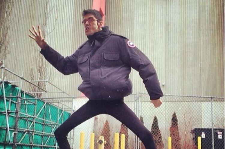 Javier Botet, pemeran hantu di The Conjuring 2 ini tingginya 2 meter