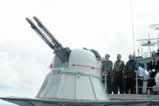 Kunjungan Jokowi ke Natuna mendapat perhatian luas media asing