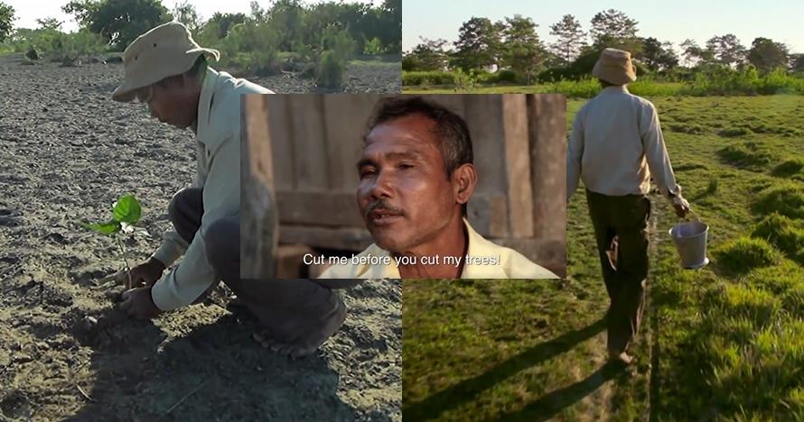 Pria ini tanam pohon selama 37 tahun dan hasilnya bikin kamu tertegun