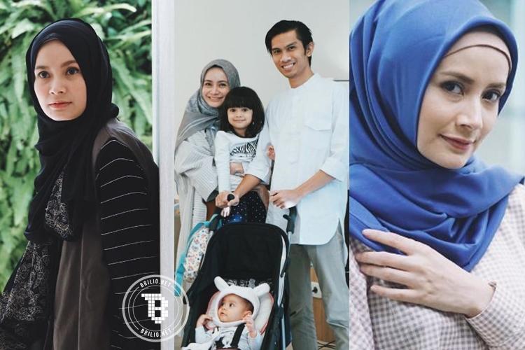 15 Foto Dhatu Rembulan, hijabers cantik belahan hati Tria Changcuters