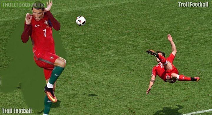 5 Foto editan gol salto Xherdan Shaqiri ini bikin ketawa ngakak
