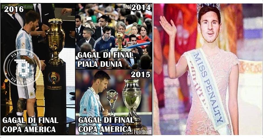 17 Meme kocak ini bukti kalau Messi manusia biasa bukan alien!
