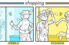 18 Ilustrasi ini ungkap perbedaan single dan pacaran, kamu yang mana?
