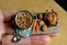20 Miniatur makanan dari clay ini seperti beneran, awas salah makan!