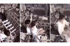 Demi foto selfie, pasangan kekasih ini nekat menantang maut