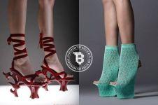 15 Model high heels tak biasa ini malah bikin kaki ngilu