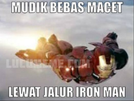 meme lucu superhero mudik 1-11 © 2016 brilio.net