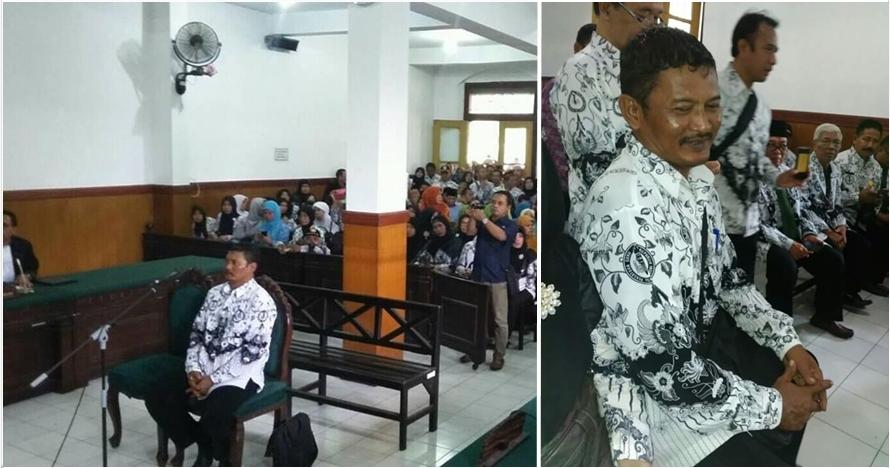 Guru SMP ini dipolisikan karena cubit siswanya, bikin miris!