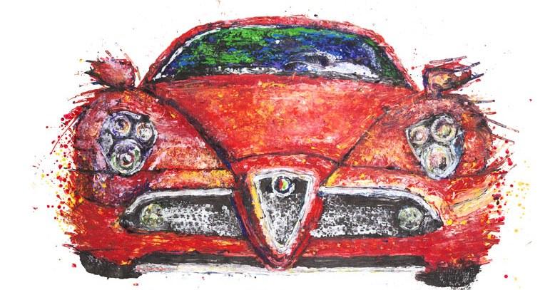 lukisan dari mobil © 2016 brilio.net