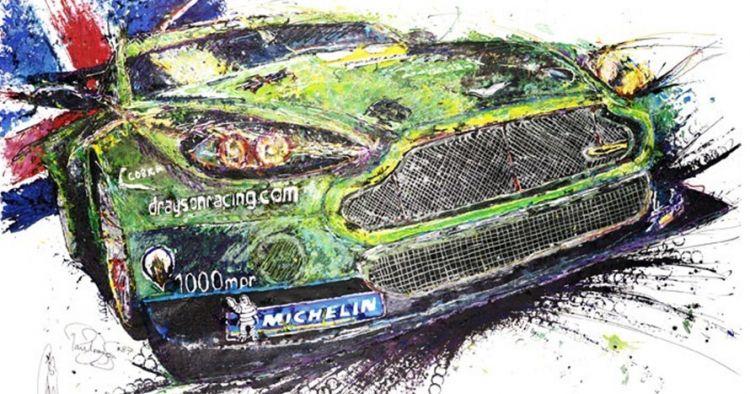25 Lukisan ini dibuat pakai mobil remot kontrol, menakjubkan!