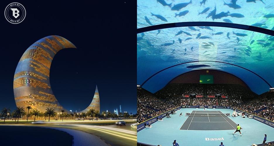 15 Foto bangunan ini buktikan bahwa Dubai memang gereget!