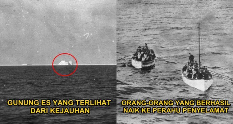 13 Foto langka tragedi tenggelamnya Titanic, sedih jadi pengen nangis!