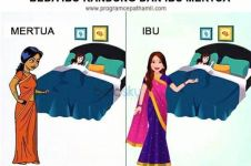 4 Ilustrasi tunjukkan beda ibu kandung dengan ibu mertua, benar nggak?