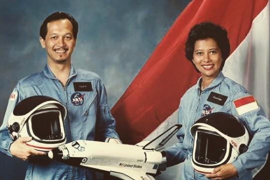 Ini astronot cewek pertama di Asia, ternyata dari Indonesia lho!