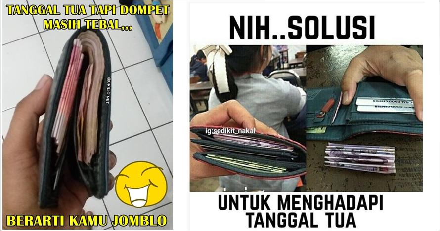 7 Meme isi dompet ini dijamin bikin geli, kamu pasti pernah nih!