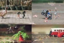 15 Foto inspirasi konsep prewed Dunia Kurcaci ini unik & lucu banget!